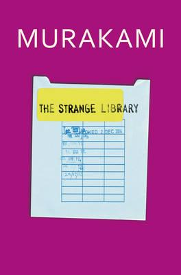 Book cover of the strange library