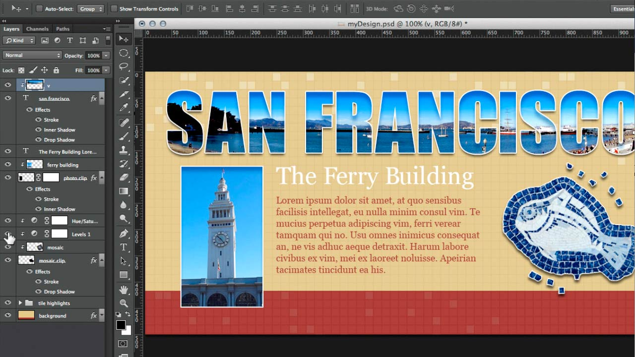 Design the Web: Clipping Masks