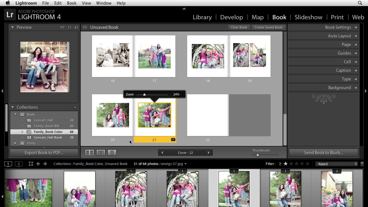 Lightroom 4 Essential Training: 3 Creating Prints & Books