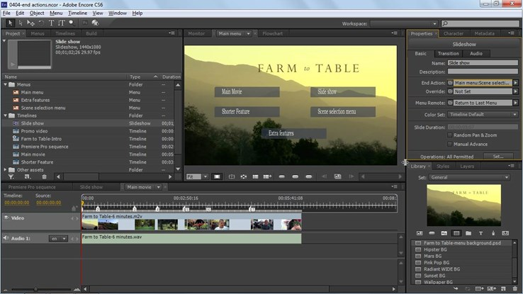 Up and Running With Encore CS6