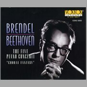 "Beethoven: Alfred Brendel Plays Beethoven; the 5 Piano Concerti ""choral Fantasy"""