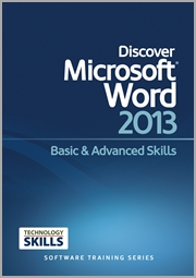 Discover Microsoft Word 2013