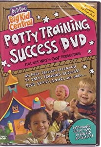 Huggies Pull-Ups Training Pants Big Kid Central Potty Training Success DVD