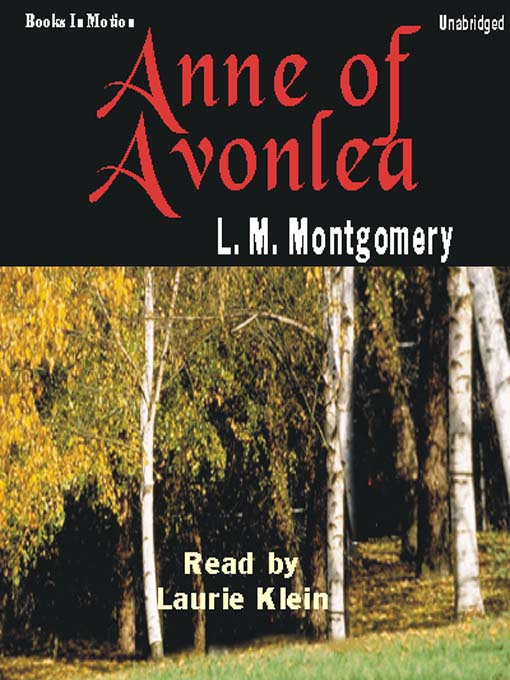 Anne of Avonlea