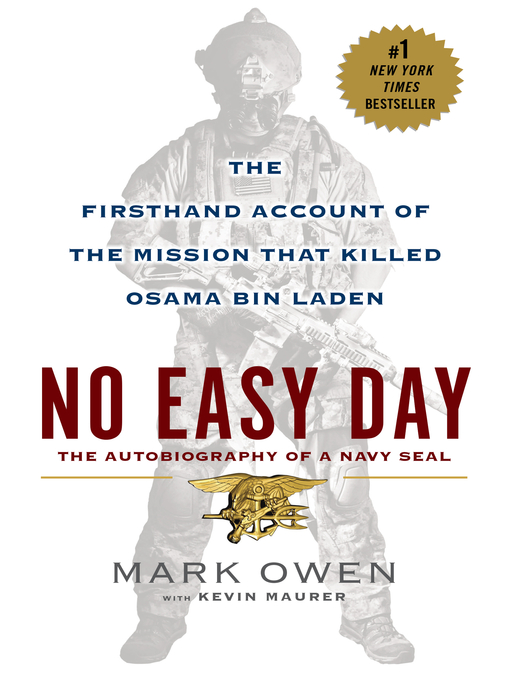 Cover image for No Easy Day