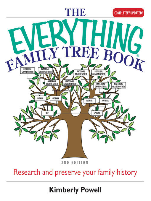 Everything Family Tree Book