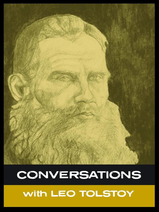 Conversations With-- Leo Tolstory