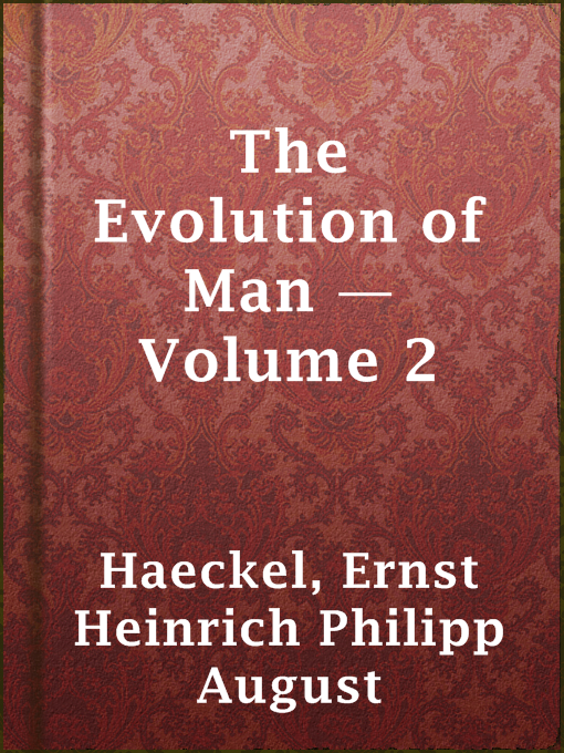 The Evolution of Man ¿́¿ Volume 2