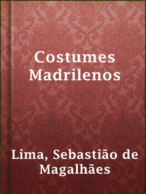Costumes madrilenos