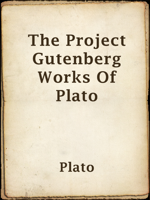 The Project Gutenberg Works of Plato