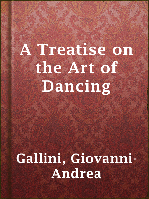 A Treatise on the Art of Dancing
