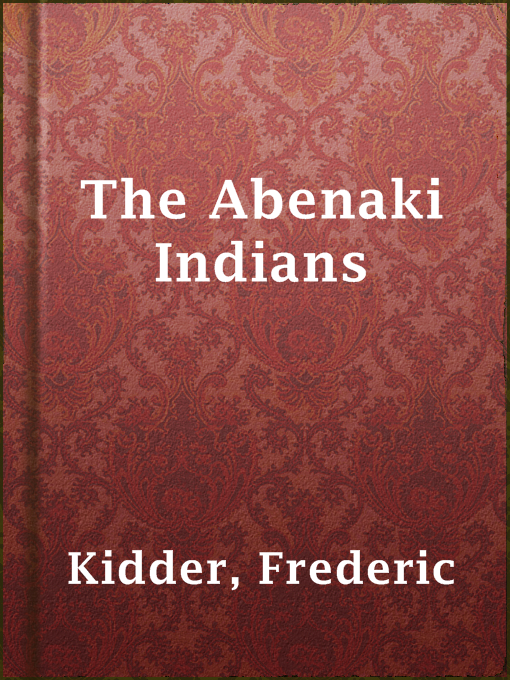 The Abenaki Indians