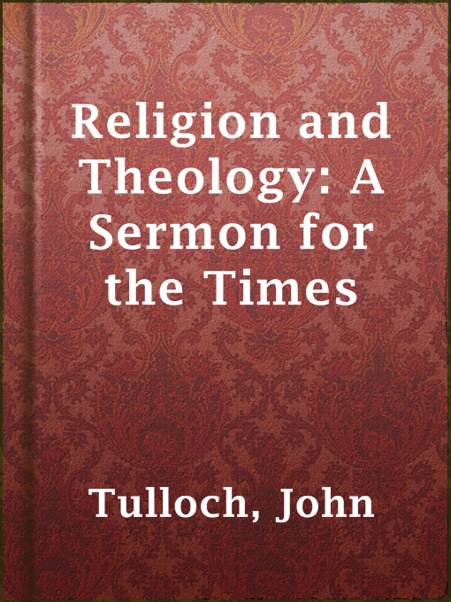 Religion and Theology: A Sermon for the Times