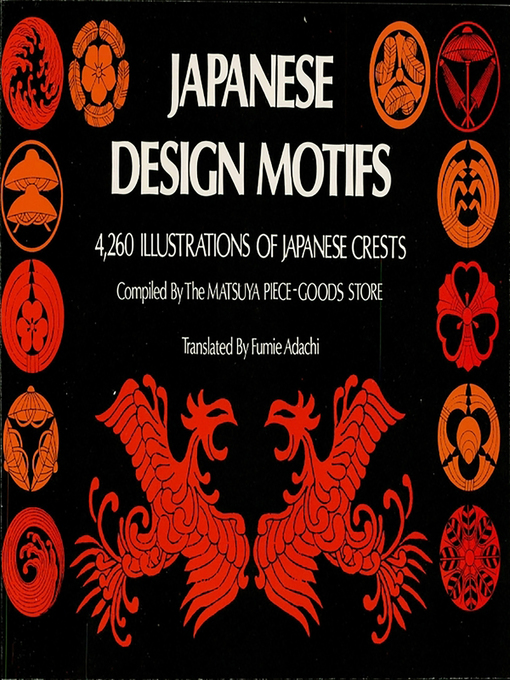 Cover image for Japanese Design Motifs