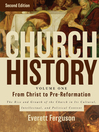 Church History, Volume 1