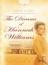 Dreams Of Hannah Williams