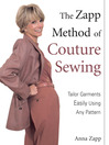 The Zapp Method of Couture Sewing