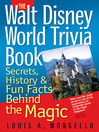 The Walt Disney World Trivia Book, Volume 1