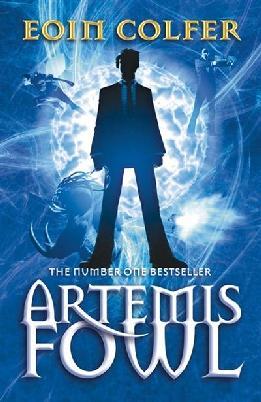Book cover of Artemis Fowl