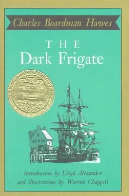Book cover: The dark frigate