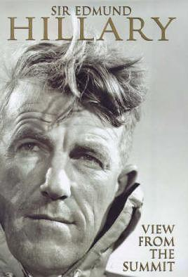 Cover of The view from the summit by Sir Edmund Hilary