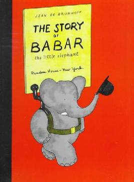 Cover of The story of Babar