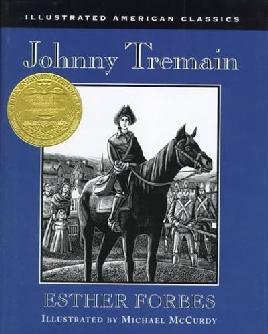 Book cover: Johnny Tremain