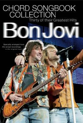 Cover of Bon Jovi chord songbook collection