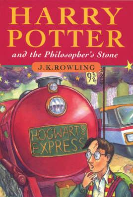 Cover of Harry Potter and the Philosopher's Stone