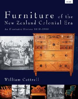Cover of Furniture of the New Zealand Colonial era