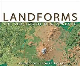 Cover of Landforms: the shaping of New Zealand