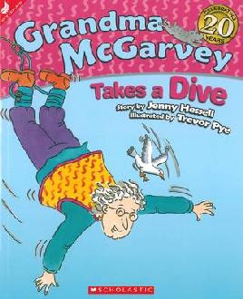 Book Cover of Grandma McGarvey Takes a Dive