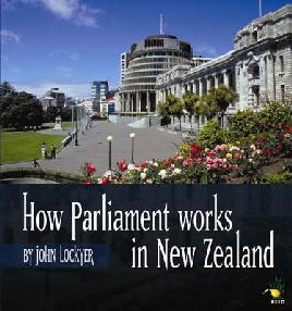 Book Cover of How Parliament Works in NZ