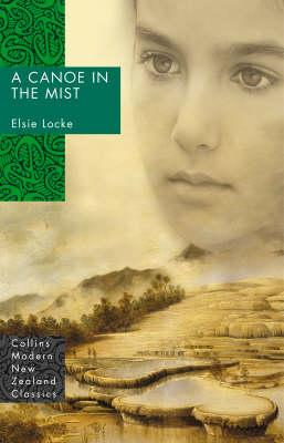 Book cover of a canoe in the mist