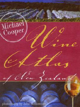 Cover of Wine atlas of New Zealand
