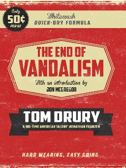 Cover of The end of vandalism