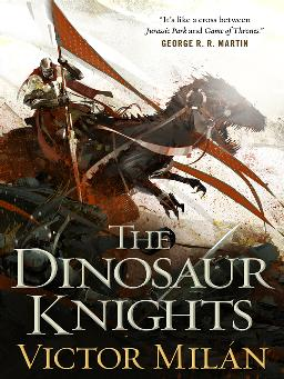 Cover image for The Dinosaur Knights
