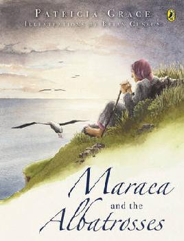 Book Cover or Maraea and the Albatrosses