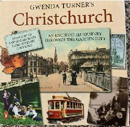 Book cover of Gwenda Turners Christchurch