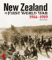 Cover of New Zealand and the First World War