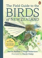 Cover of The field guide to the birds of New Zealand
