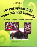 Book Cover of He Pukapuka Tuhi Kupu Ma Nga Tamariki