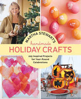 Cover of Martha Stewart's handmade holiday crafts