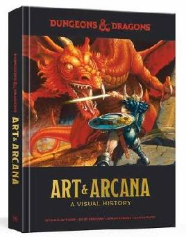 Catalogue link for Dungeons & Dragons Art & Arcana, A Visual History