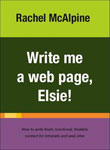 Cover of Write me a web page