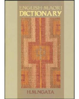Cover of English-Māori dictionary