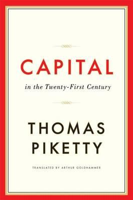 Cover of Capital in the Twenty-First Century