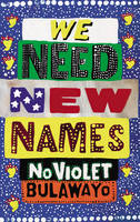 Cover of We need new names