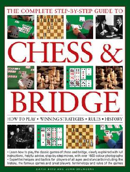 Cover of The Complete step-by-step guide to Chess & Bridge