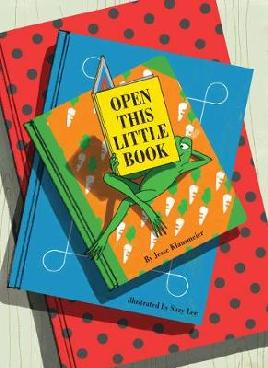 Book cover of open this little book